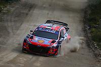 21st May 2021, Arganil, Portugal. WRC Rally of Portugal;  Ott Tanak-Hyundai i20WRC