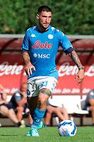 Matteo Politano<br /> Dimaro 18/07/2021 <br /> Football 2021/2022 preseason friendly match between SSC Napoli and Bassa Anaunia <br /> Photo Image Sport / Insidefoto