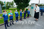 Welcoming Norma Foley TD Minister of Education to O'Brenann NS on Wednesday,