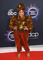 LOS ANGELES, USA. November 25, 2019: Patrick Starrr at the 2019 American Music Awards at the Microsoft Theatre LA Live.<br /> Picture: Paul Smith/Featureflash