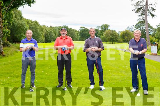 James Collins, Killarney Chirs Collins Killarney Patsy Donoghue Castleisland and Paudie Shea Killarney enjoying a round of golf in Killarney Golf and Fishing club on Sunday