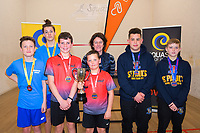 Squash. 2019 AIMS games at Blake Park in Mount Maunganui, New Zealand on Thursday, 12 September 2019. Photo: Dave Lintott / lintottphoto.co.nz