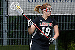 GER - Hannover, Germany, May 30: During the Women Lacrosse Playoffs 2015 match between DHC Hannover (black) and SC Frankfurt 1880 (red) on May 30, 2015 at Deutscher Hockey-Club Hannover e.V. in Hannover, Germany. Final score 23:3. (Photo by Dirk Markgraf / www.265-images.com) *** Local caption *** +h1+