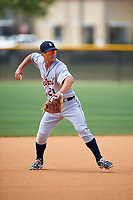 Detroit Tigers Brett Pirtle (21) during practice before a minor league Spring Training game against the New York Yankees on March 22, 2017 at the Yankees Complex in Tampa, Florida.  (Mike Janes/Four Seam Images)