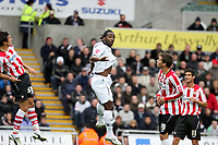 Pictured: Jason Scotland of Swansea City <br /> Re: Coca Cola Championship, Swansea City Football Club v Southampton at the Liberty Stadium, Swansea, south Wales 25 October 2008.<br /> Picture by Dimitrios Legakis Photography, Swansea, 07815441513