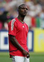Eric Abidal.  Italy defeated France on penalty kicks after leaving the score tied, 1-1, in regulation time in the FIFA World Cup final match at Olympic Stadium in Berlin, Germany, July 9, 2006.