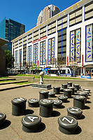 Photography of the Typewriter keys sculptures outside ImaginON,  in Charlotte, North Carolina.<br /> <br /> Charlotte Photographer -PatrickSchneiderPhoto.com