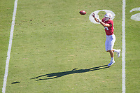 STANFORD, CA - September 15, 2018: Colby Parkinson at Stanford Stadium. The Stanford Cardinal defeated UC Davis, 30-10.