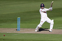 Adam Wheater of Essex in batting action during Warwickshire CCC vs Essex CCC, LV Insurance County Championship Group 1 Cricket at Edgbaston Stadium on 22nd April 2021