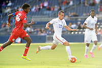 Kansas City, KS. - October 3, 2015: The USMNT U-23 defeated Cuba 6-1 in CONCACAF Olympic Qualifying at Sporting Park.