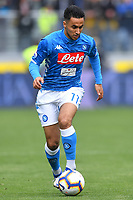 Adam Ounas of Napoli during the Serie A 2018/2019 football match between Frosinone and SSC Napoli at stadio Benito Stirpe, Frosinone, April 28, 2019 <br /> Photo Andrea Staccioli / Insidefoto