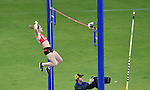 Wales' Sally Peake who claimed a silver medal in the women's pole vault competition.  <br /> <br /> Photographer Chris Vaughan/CameraSport<br /> <br /> 20th Commonwealth Games - Day 10 - Saturday 2nd August 2014 - Athletics - Hampden Park - Glasgow - UK
