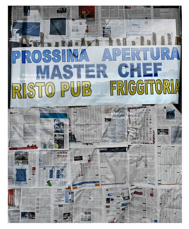 - NAPOLI 11 MAR  2014 - fuorigrotta  prossima negozio  master chef