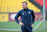 FK Trakai v St Johnstone…05.07.17… Europa League 1st Qualifying Round 2nd Leg<br />St Johnstone training at the LFF Stadium in Vilnius, Lithuania pictured Steven MacLean during the session<br />Picture by Graeme Hart.<br />Copyright Perthshire Picture Agency<br />Tel: 01738 623350  Mobile: 07990 594431