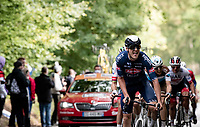 Louis Vervaeke (BEL/Alpecin-Fenix) up the final climb of the day; the Côte de la Roche aux Faucons<br /> <br /> 106th Liège-Bastogne-Liège 2020 (1.UWT)<br /> 1 day race from Liège to Liège (257km)<br /> <br /> ©kramon