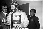 GIANNI MORANDI CON FRANCESCO DE GREGORI <br /> CONCERTO MORANDI AL CINEMA AURORA ROMA 1980