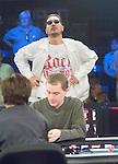 "Hand 51: Joe Pelton doubles up through Steve Wong.  Wong""s reactions during the hand."