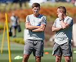 24.06.2019 Rangers training in Algarve: Steven Gerrard