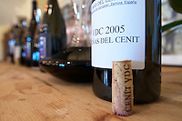 decanter and wine bottle Vinas del Cenit VDC 2005 Bodegas Vinas del Cenit, DO Tierra del Vin de Zamora spain castile and leon