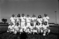 Visite a Montreal de l' equipe Parisienne de Baseball  PUC   juillet 1973<br /> <br /> <br /> PHOTO :  Alain Renaud<br /> - <br />  - Agence Quebec Presse