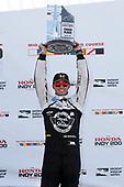 Verizon IndyCar Series<br /> Honda Indy 200 at Mid-Ohio<br /> Mid-Ohio Sports Car Course, Lexington, OH USA<br /> Sunday 30 July 2017<br /> Graham Rahal, Rahal Letterman Lanigan Racing Honda podium<br /> World Copyright: Michael L. Levitt<br /> LAT Images