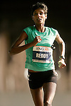 Veena Reddy (USA) crosses the Queensboro Bridge from Queens into Manhattan while competing in the ING New York City Marathon in New York, New York on November 4, 2007.  Martin Lel (KEN) won the men's race with a time of 2:09:04  Paula Radcliffe (GBR) won the women's race with a time of 2:23:09.
