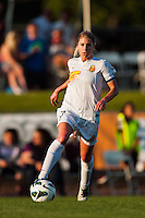 Western New York Flash midfielder McCall Zerboni (7). The Western New York Flash defeated Sky Blue FC 3-0 during a National Women's Soccer League (NWSL) match at Yurcak Field in Piscataway, NJ, on June 8, 2013.