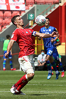 Jason Pearce of Charlton Athletic in action during Charlton Athletic vs Wigan Athletic, Sky Bet EFL Championship Football at The Valley on 18th July 2020
