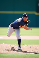 Atlanta Braves pitcher Bryse Wilson (12) during an Instructional League game against the Washington Nationals on September 30, 2016 at Space Coast Stadium in Melbourne, Florida.  (Mike Janes/Four Seam Images)