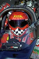 Jan. 1998; Chandler, AZ, USA; NHRA top fuel dragster driver Cory McClenathan during pre season testing at Firebird International Raceway. Mandatory Credit: Mark J. Rebilas-