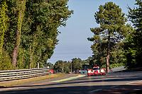 #31 Team WRT Oreca 07 - Gibson LMP2, Robin Frijns, Ferdinand Habsburg, Charles Milesi, 24 Hours of Le Mans , Test Day, Circuit des 24 Heures, Le Mans, Pays da Loire, France