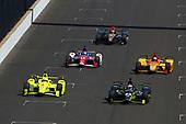 Verizon IndyCar Series<br /> Indianapolis 500 Carb Day<br /> Indianapolis Motor Speedway, Indianapolis, IN USA<br /> Friday 26 May 2017<br /> Charlie Kimball, Chip Ganassi Racing Teams Honda<br /> World Copyright: Phillip Abbott<br /> LAT Images<br /> ref: Digital Image abbott_indy_0517_27629
