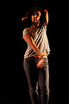 LE RYTHME DE L'AUTRE....Chorégraphe associé : Pascal Luce..Chorégraphie et interprétation : Farrah Elmaskini..Date : 18/01/2013..Cadre : Festival Suresnes cité danse 2013 / connexions #2..Lieu : Théâtre Jean Vilar..Ville : Suresnes..© Laurent Paillier / photosdedanse.com..All rights reserved..