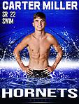 Bryant Swim Team SR 2022 Banners