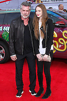 """HOLLYWOOD, LOS ANGELES, CA, USA - MARCH 11: Ray Liotta, Karsen Liotta at the World Premiere Of Disney's """"Muppets Most Wanted"""" held at the El Capitan Theatre on March 11, 2014 in Hollywood, Los Angeles, California, United States. (Photo by Xavier Collin/Celebrity Monitor)"""