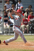 March 15, 2010:  John Zilnicki (21) of the Cortland Red Dragons in a game vs Wheaton College at Lake Myrtle Park in Auburndale, FL.  Photo By Mike Janes/Four Seam Images