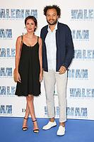 AMELLE CHAHBI (SA COMPAGNE), FABRICE EBOUE - AVANT-PREMIERE DU FILM 'VALERIAN ET LA CITE DES MILLES PLANETES' A LA CITE DU CINEMA, SAINT-DENIS, FRANCE, LE 25/07/2017.