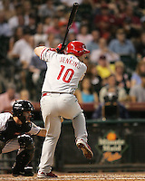 Philadelphia Phillies OF Geoff Jenkins on Thursday May 22nd at Minute Maid Park in Houston, Texas. Photo by Andrew Woolley / Baseball America..