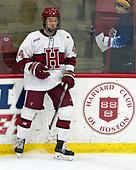 Michael Floodstrand (Harvard - 44) - The visiting Colgate University Raiders shut out the Harvard University Crimson for a 2-0 win on Saturday, January 27, 2018, at Bright-Landry Hockey Center in Boston, Massachusetts.