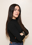 "Isabelle Fuhrman in rehearsal with Red Bull Theater's All-Female ""MACBETH"" at the Vineyard Theatre Rehearsal Studios on April 12, 2019 in New York City."