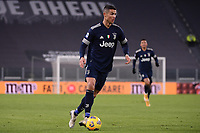 Cristiano Ronaldo of Juventus FC in action during the Serie A football match between Juventus FC and US Sassuolo Calcio at Allianz stadium in Torino (Italy), January 10th, 2021. Photo Federico Tardito / Insidefoto