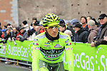 Jonathan Monsalve (VEN) Vini Fantini-Selle Italia at the sign on before the start of the 104th edition of the Milan-San Remo cycle race at Castello Sforzesco in Milan, 17th March 2013 (Photo by Eoin Clarke 2013)