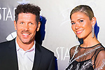 Diego Pablo 'Cholo' Simeone and Carla Pereyra attends Photocall previous to Starlite Gala 2019. August 11, 2019. (ALTERPHOTOS/Francis González)