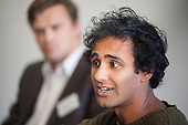 Rohan Silva, Entrepreneur in Residence at Index Ventures.  Disruptive Technology Financial Services conference, Level39, Canary Wharf, London.