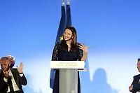 VALERIE BOYER - MEETING DE FRANCOIS FILLON A MARSEILLE, FRANCE, LE 11.04.2017.