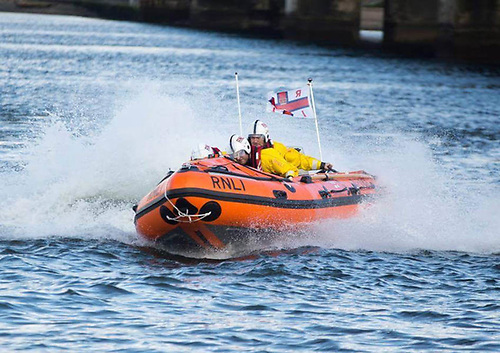 File image of Wexford RNLI's inshore lifeboat
