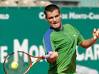 18-4-06, Monaco, Tennis,Master Series, 18-4-06, Monaco, Tennis,Master Series, Youzhny in action against Coria