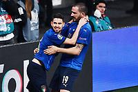 6th July 2021; Wembley Stadium, London, England; Euro 2020 Football Championships semi-final, Italy versus Spain; Jorginho