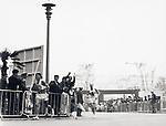 Basil Heatley (GBR), Kokichi Tsuburaya (JPN), OCTOBER 24, 1964 : Kokichi Tsuburaya of Japan (left), chased by Basil Heatley of Great Britain (right), runs in the Marathon event during the 1964 Olympic Games in Tokyo, Japan. (C)Shinichi Yamada/AFLO SPORT (348)