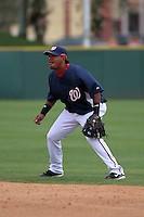 Washington Nationals Ronnie Belliard during a Grapefruit League Spring Training game at Spacecoast Stadium on March 19, 2007 in Melbourne, Florida.  (Mike Janes/Four Seam Images)